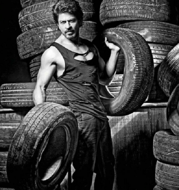 Shah rukh khans picture from dabboo ratnanis 2017 calendar shoot