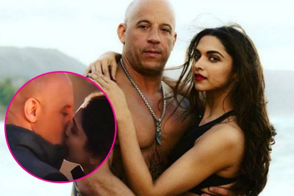 deepika padukone 39 s liplock with vin diesel from xxx the return of xander cage is going viral. Black Bedroom Furniture Sets. Home Design Ideas