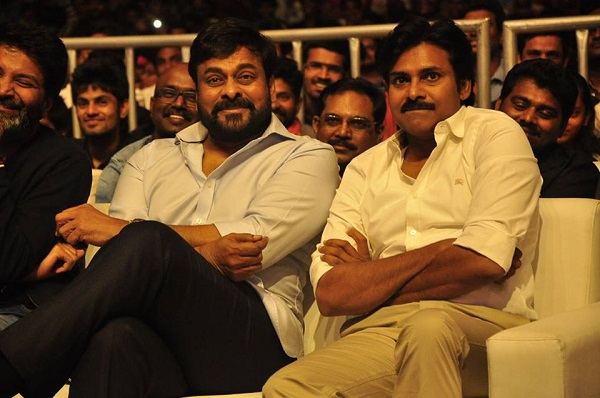 Image result for pawan and chiranjeevi