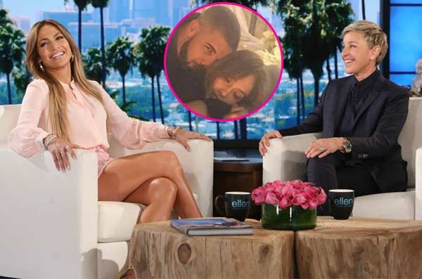 Jennifer lopez reveals relationship status with drake on the ellen degeneres show - Ellen show videos ...