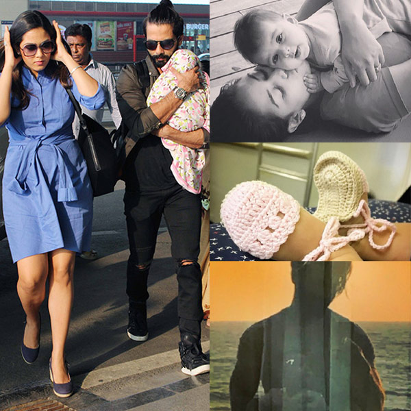 Super These 5 Pics Prove Shahid Kapoor Introduced Baby Misha In The Most Hairstyles For Men Maxibearus