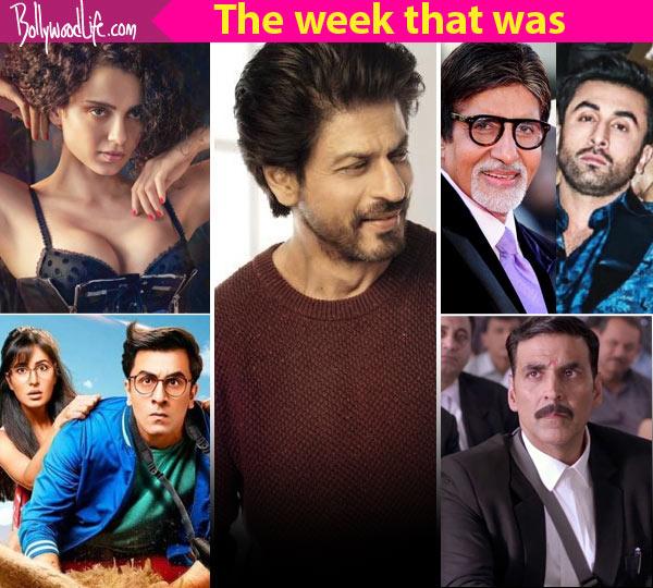 Top 5 Viral News Of The Week: Shah Rukh Khan, Kangana Ranaut, Akshay Kumar