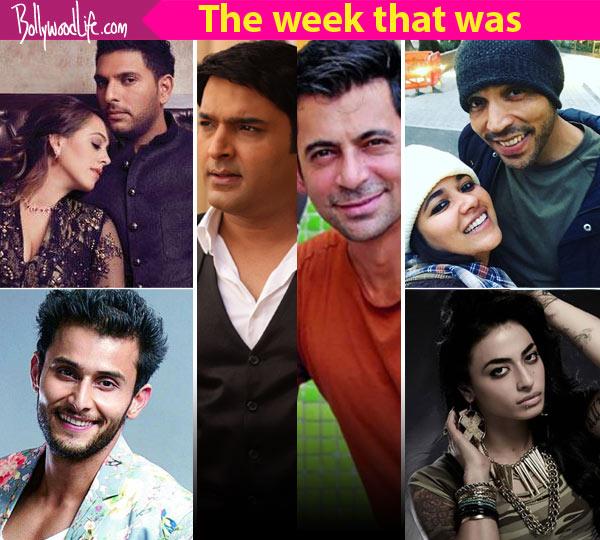 Kapil Sharma – Sunil Grover, Narayani Shastri, Leenesh Mattoo – a look at TV's newsmakers this week!