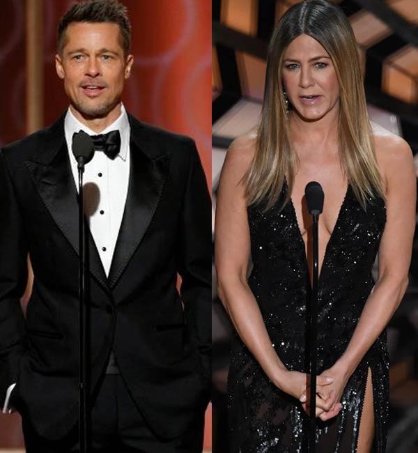 Brad Pitt finds solace... Brad Pitt And Jennifer Aniston