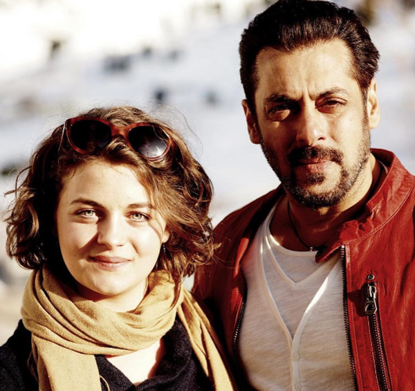 what s this austrian actress doing with salman khan on the sets of tiger zinda hai