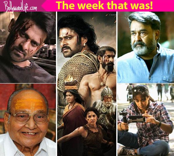 Top 5 Viral News Of The Week: Prabhas' Bahubali 2 Release, Saaho Teaser