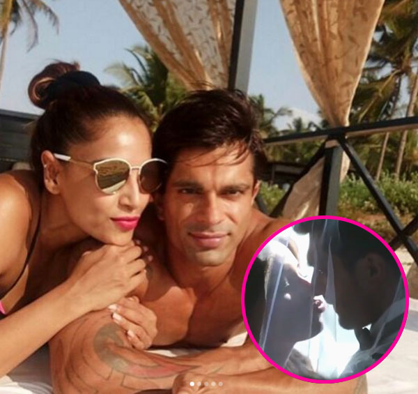 Karan Singh Grover and Surbhi Jyoti off-screen pics