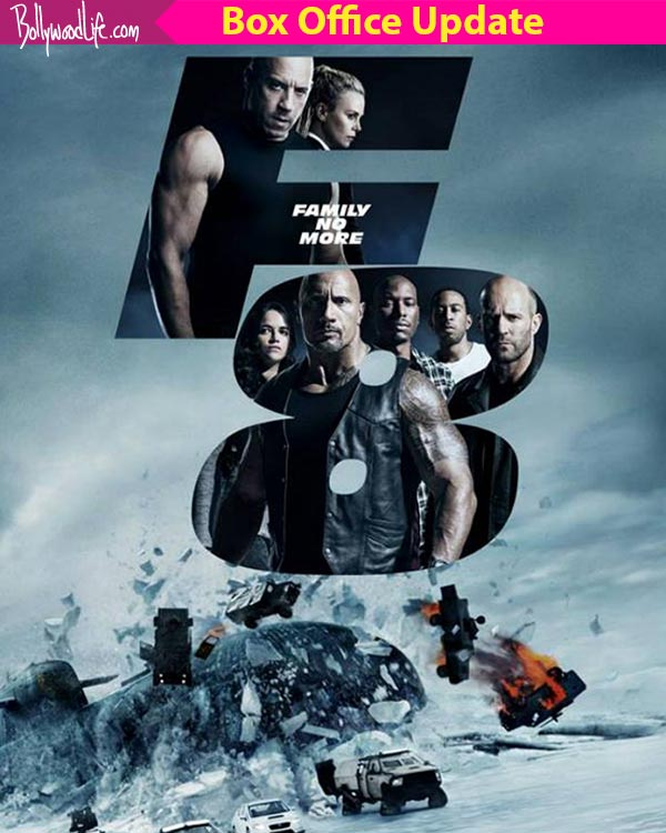 fast and furious 8 box office collection day 4 dwayne johnson and vin diesel 39 s film shatters. Black Bedroom Furniture Sets. Home Design Ideas