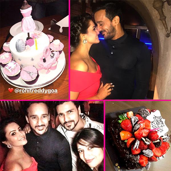 Anita Hassanandani's birthday was a BLAST and these party pics with Rohit Reddy, Divyanka Tripathi, Vivek Dahiya are proof