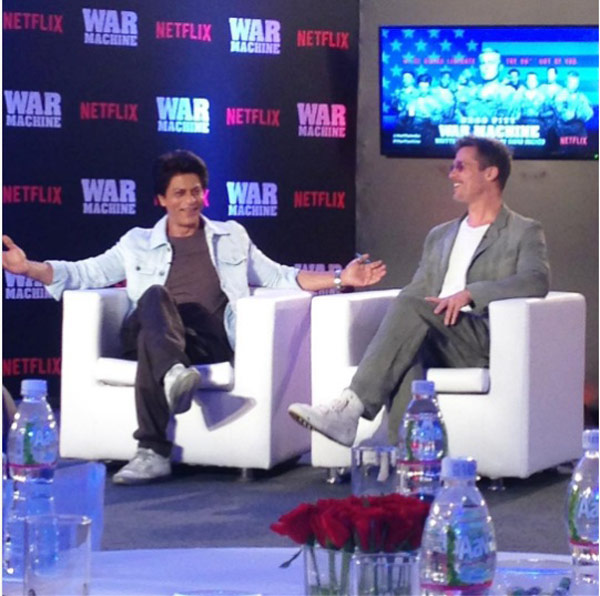 Brad Pitt and Shah Rukh Khan to meet up in India?
