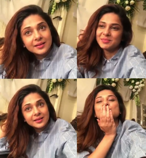A pleasantly surprised Jennifer Winget thanks fans in the ...