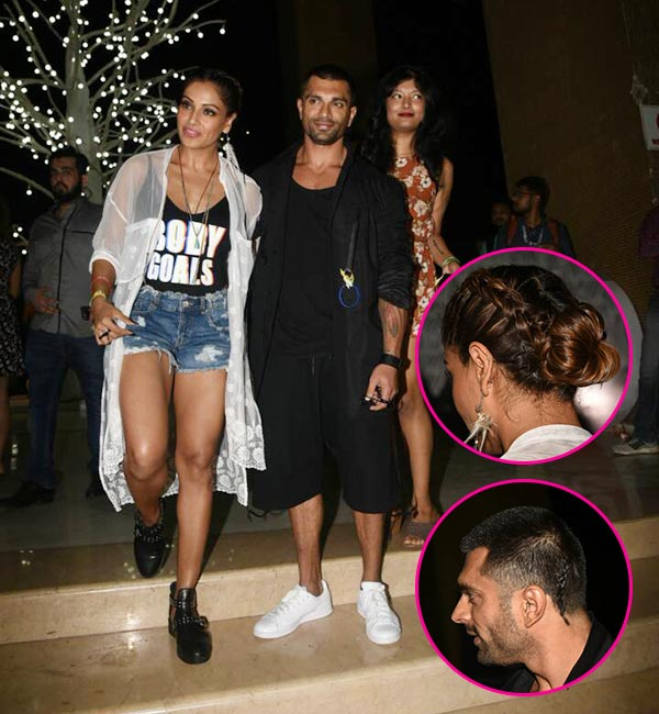 Bipasha Basu and Karan Singh Grover's braid-bonding at the Justin Bieber concert is too cool for words -View HQ Pics