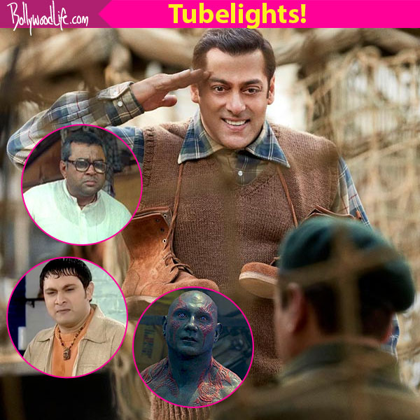 Salman Khan Paints On the sets of Tubelight