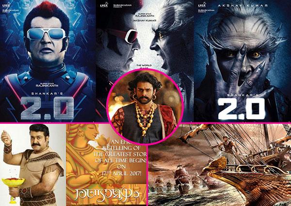 Rajinikanth and Akshay Kumar's 2.0, Jayam Ravi's Sangamithra – 5 super-expensive movies we are getting thanks to Baahubali's success