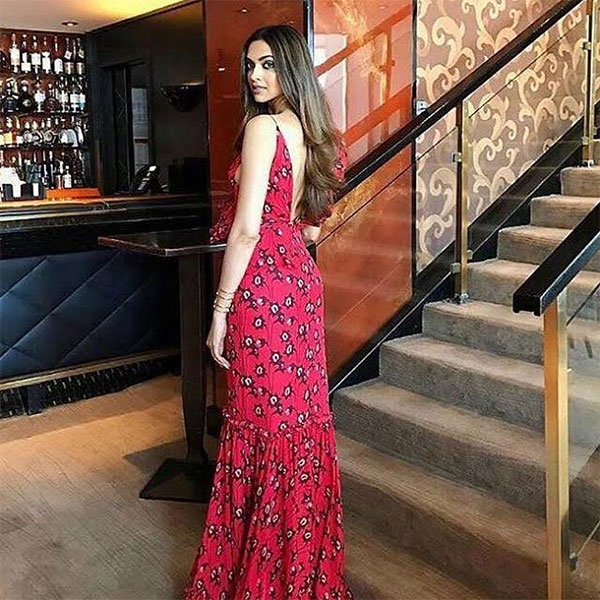 Cannes 2017: Deepika Padukone shimmies in a printed red ...