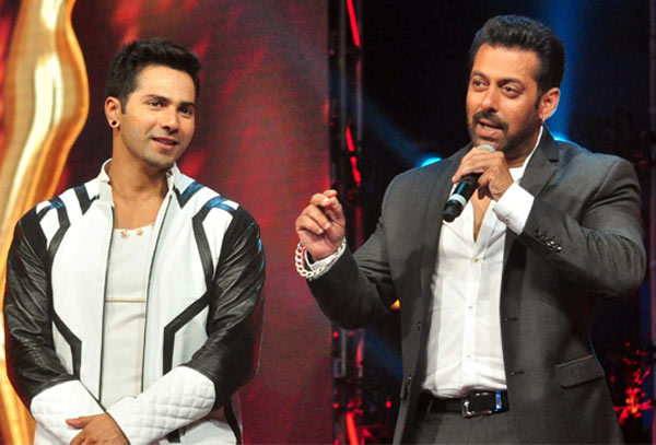 When hungry, Salman 'bhai' would snatch roti from my hand: Varun Dhawan