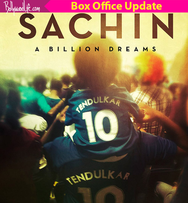 Tendulkar's biopic Sachin: A Billion Dreams collects 27.60 cr in 3 days