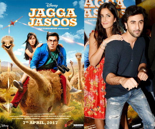 Jagga Jasoos Movie New Trailer Released-Ranbir Kapoor-Katrina Kaif's Adventurous journey