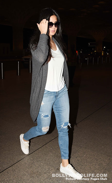 Airport Style Katrina Kaif Shows Us How Dressing Down Can