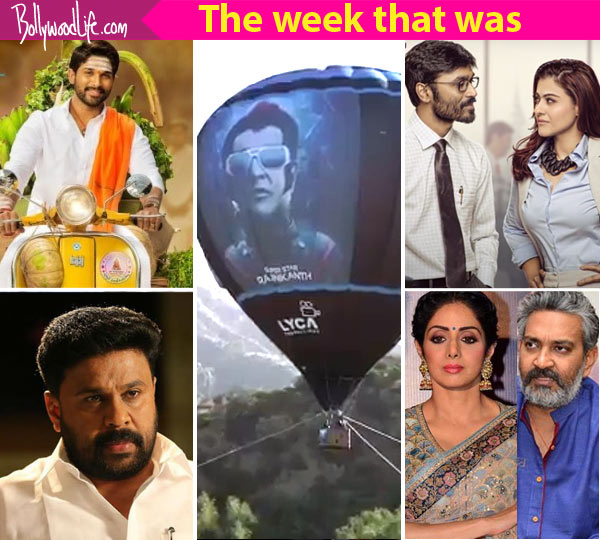 Rajinikanth's 2.O air balloon, Allu Arjun's Duvvada Jagannadham – meet the top 5 newsmakers of South this week