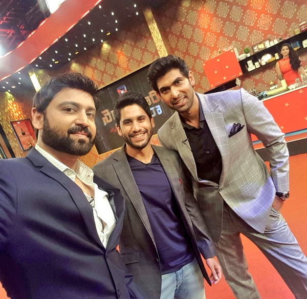 Naga Chaitanya and Sumanth had a blast shooting for Rana Daggubati's chat show, Yaari no 1