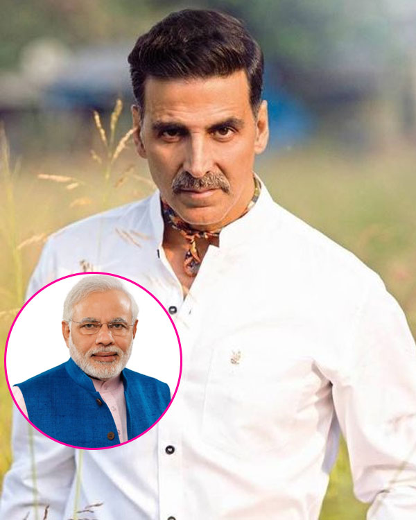Narendra Modi biopic: Akshay Kumar to play the coveted role of PM?