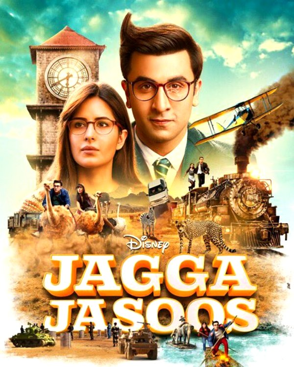 Jagga Jasoos' latest poster gives us a sneak peek into Ranbir Kapoor and Katrina Kaif's epic adventure – view pic