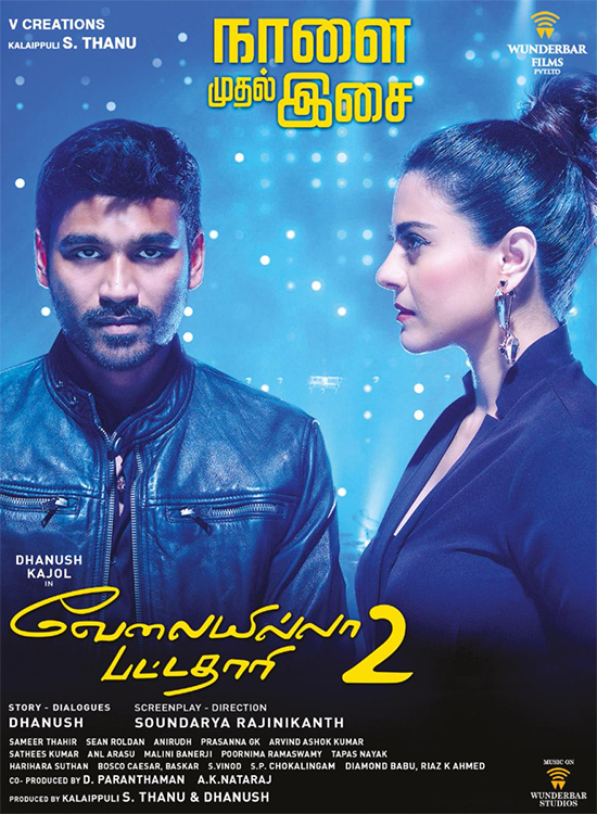 Vip 2 Lalkar (Velaiilla Pattadhari 2) Watch And Download Full Movie HD