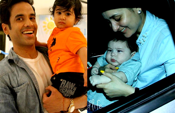 Kareena Kapoor Khan's son Taimur and Tusshar Kapoor's son Laksshya are the new BFFs in town
