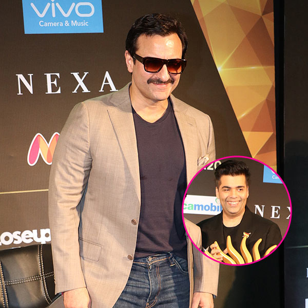 Saif Ali Khan is in awe of Karan Johar