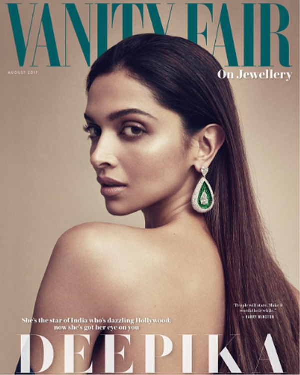 Deepika Padukone's photoshoot for Vanity Fair is absolutely sizzling. Check it out