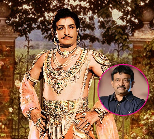 Will RGV direct NTR's biopic?