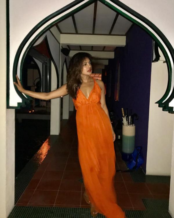 Priyanka Chopra is celebrating her 35th birthday at a secret beach