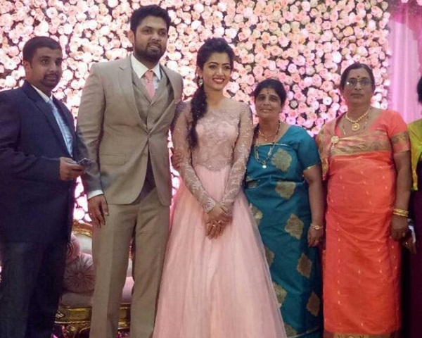 Rakshit Shetty and Rashmika Mandanna Got Engaged; See Pics