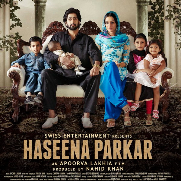 'Haseena Parkar' poster: Shraddha Kapoor shares happy family picture with husband, kids
