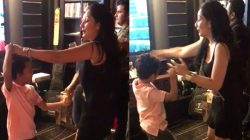 Maanyata grooves to Despacito with her son Shahraan but where is Sanjay Dutt? Watch video