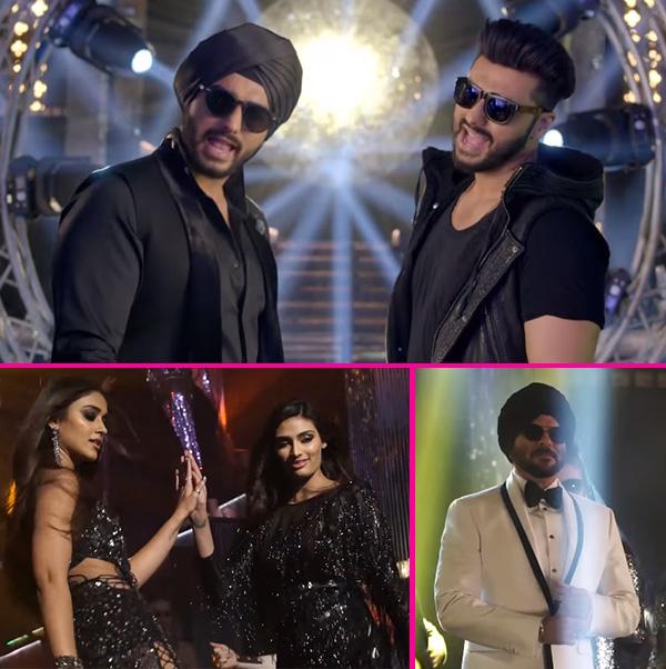 Check out Karan and Charan's swag in Jatt Jaguar song from Mubarakan