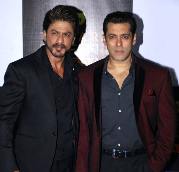 Salman Khan and Shah Rukh Khan headed to the same place last night and we know why – View pics