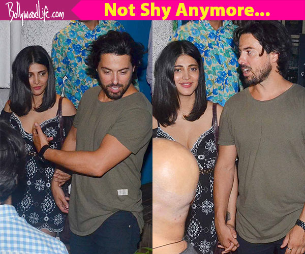Shruti Haasan spotted with Boyfriend