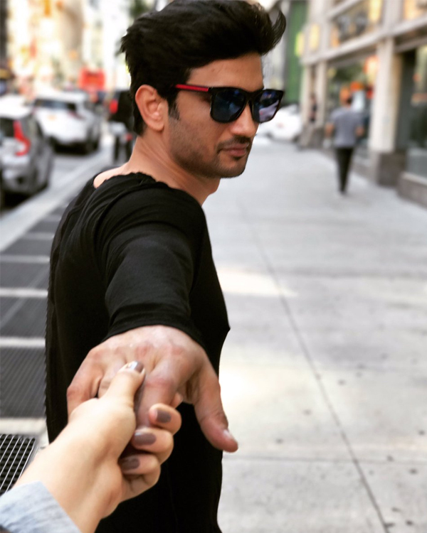 Sushant Singh Rajput S Latest Instagram Picture Is Going: And They Do It Again! Sushant Singh Rajput And Kriti Sanon