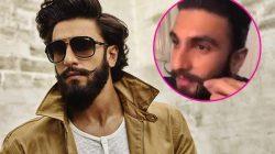 Ranveer Singh trimmed his Padmavati beard LIVE on Instagram – Watch video