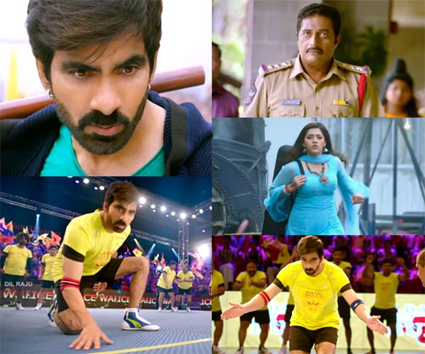 Ravi Teja Raja The Great Teaser