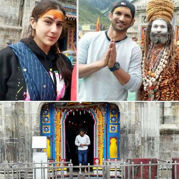 Image result for sara ali khan first look from kedarnath