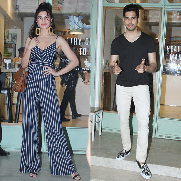 Sidharth and Jacqueline excited for their movie - 'A Gentleman'