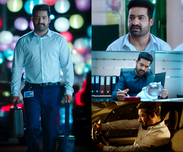 NTR surprises with a sly smile in Kusa poster