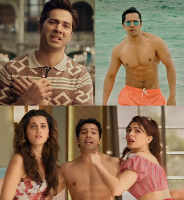 Trailer: Get Ready for Varun Dhawan Times 2 in Judwaa 2