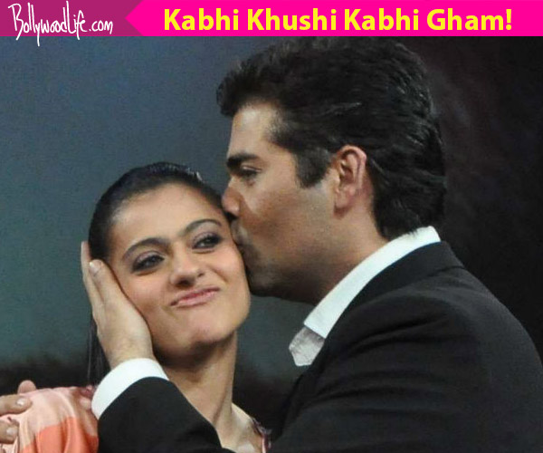 Kabhi Khushi Kabhie Gham Karan Johar: Jab Kajol Met Karan Johar And Hugged Him With A Heavy