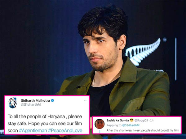 Sidharth Malhotra talks about double role in
