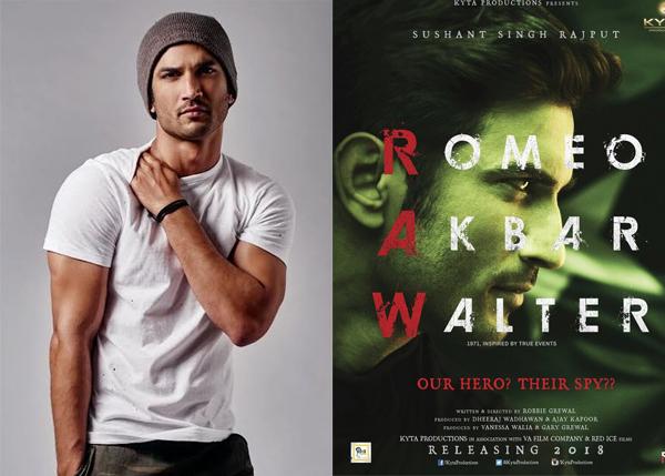 Image result for Sushant Singh Rajput-Romeo Akbar Walter
