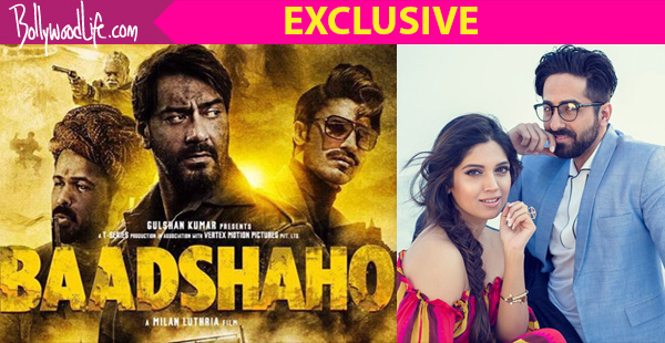 Ayushmaan Khurana and Bhumi Pednekar is not scared of Ajay Devgn's Baadhsho is releasing on the same date